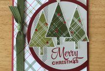christmas tre cards