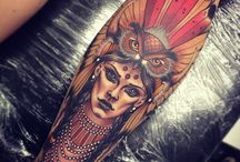 warrior tattoo