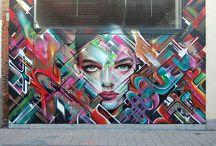 Graffiti and Street Art / by Debbie