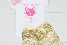 Summer Outfits for Kids / Cute baby, toddler, and kids clothes for summer