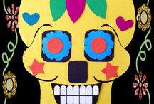 day of the dead Mexican art