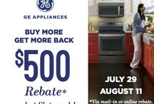 REBATES! / Special Rebate programs