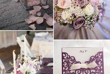 Wedding plum&grey