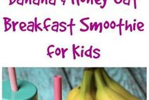 Kids {Healthy smoothies}