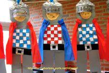 schoolthema: ridders en kastelen
