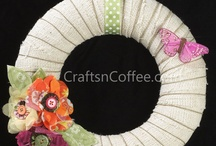 Wreaths / by CraftsnCoffee