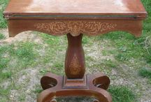 Antique Cards Tables