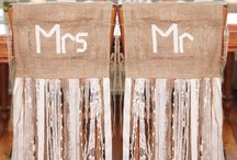 chair decor wedding
