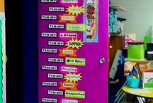 Preschool door