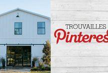 Trouvailles Pinterest: Grange transformée