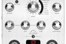 Aura Acoustic Imaging / Aura Acoustic Imaging technology restores the sound of a studio microphone to your undersaddle or soundhole pickup!