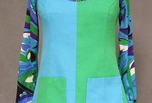 1970 Vintage Women Clothing / All the looks that made the 70's so cool and hip, fun and funky. Trippy colors and designs.