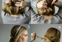 Upięte włosy