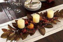 Great table settings and centrepieces / by Christine Mackenzie