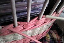 pletení z papíru - techniky