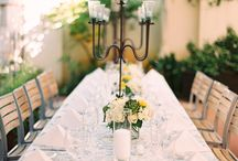 Outdoor Tea Party Table Settings / Get great outdoor tea party table setting ideas for your next event.  Hosts will love the variety of ways to set a table.
