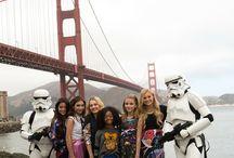 Famosos de Disney y star wars en san Francisco