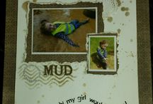 My scrapbook pages /cards