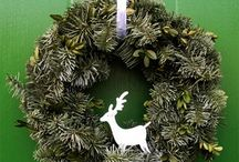Christmas Wreaths / by Yvonne Naudack