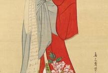 illustrators that inspired me | traditional jap / by Rita Ribeiro