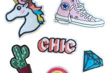 Pins,  Iron Patches, Stickers