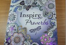 Bible Journaling - Inspire Psalm / Proverbs