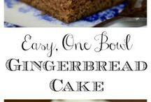 ginger cake icing