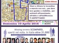 PARTECIPANDO ALLA 21ª CORRICOLLEGNO / http://www.fabriziocatalano.it/10-aprile-2016-21a-corricollegno/ per dare gambe e visibilità  AI NOSTRI CARI SCOMPARSI e  per sottrarli all'anonimato, all'oblio e all'indifferenza!
