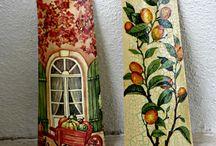 seramik duvar süsü (Hermosas tejas pintadas)