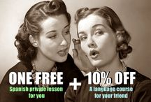 Refer-a-Friend Program / By CourConnect Refer-a-Friend Program you and your friends receive plenty of benefits!  10% off for your friend & 1 FREE private #Spanish for you!  #friendship #learn #languages #travel #Argentina