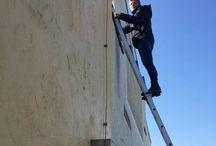 Fassadenwerbung / #Fassadenbanner, Rahmensysteme, Bannerliftsysteme, #Gerüstwerbung, #Baustellenwerbung