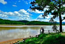 Senic Beauty Of DaLat / Dalat is the stepping stone to the Central Highlands of Vietnam. You would almost be forgiven for thinking you'd stumbled into the French Alps in springtime, to enjoy the cooler climate.