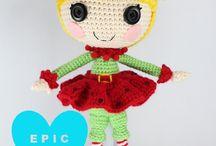 Muñecas de crochet