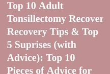 Tips and foods for tonsillectomy