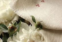 French linen & vackra broderier