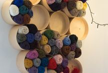 Yarn stash storage