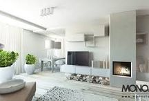 KSD: Korzonek - projekt domu: nowoczesny, w jasnej, spójnej, chłodnej tonacji