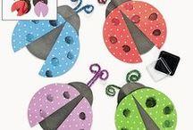 Prace plastyczne / Zawiera pomysły na prace plastyczne z dziećmi