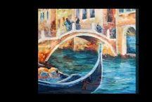 My paintings in videos