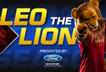 Leo the Lion / Leo the Lion, mascot of Real Salt Lake www.realsaltlake.com/content/leonardo-lion / by Real Salt Lake