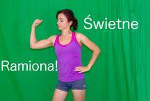 Świetne ćwiczenia / Świetne ćwiczenia na partie mięśni. http://www.fizjoczar.pl