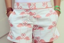 Jamaica Haus Pink! / Flamingoes, pink and coral inspiration.