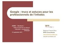 Moteurs de recherche / Documents pédagogiques sur les moteurs de recherche