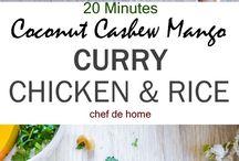 Hauptgerichte Curry, Asiatisch, Exotisch