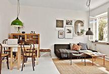 Dwupokojowe mieszkanie o powierzchni 35m2 / Małe dwupokojowe mieszkanie. Wnętrze ma jedynie 35m2 powierzchni. więcej http://www.szczyptadesignu.pl/2016/03/dwupokojowe-mieszkanie-o-powierzchni.html