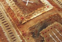 Rusted Fabric Art