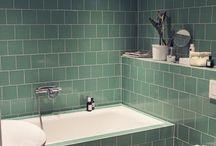 vårt nya badrum