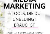 Social Media / Ideen zur effektiven Social Media Nutzung, Tutorials, Inspirationen