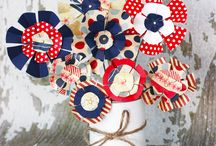 4th of July Crafts! / Arts and Crafts for 4th of July