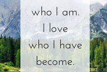 Affirmative / Life affirming inspiration!